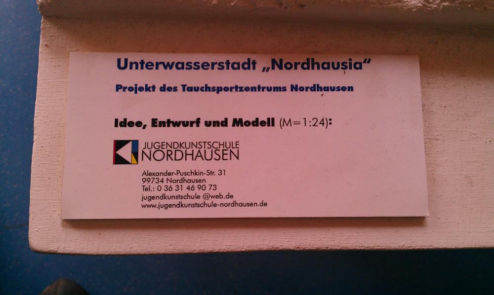 """""""Nordhausia"""" oder """"Nordhusia""""?"""