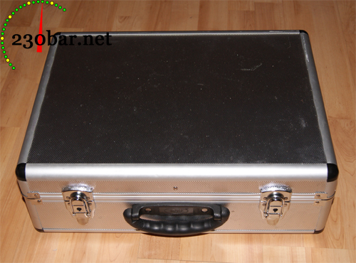 Alu-Koffer aus dem Baumarkt